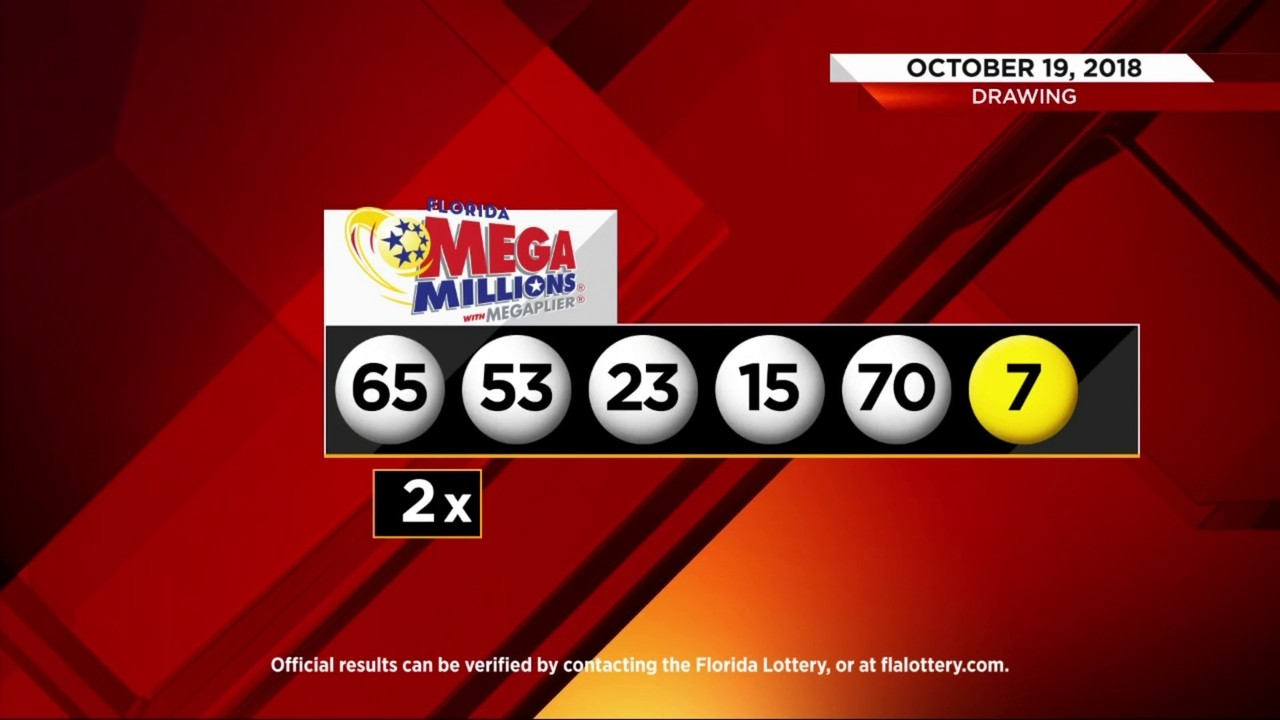 Mega Millions numbers for $1B jackpot announced