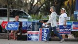 Photos: Voters head to polls as early voting starts in Florida