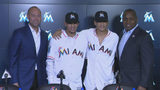 Marlins sign Mesa brothers, international star prospects