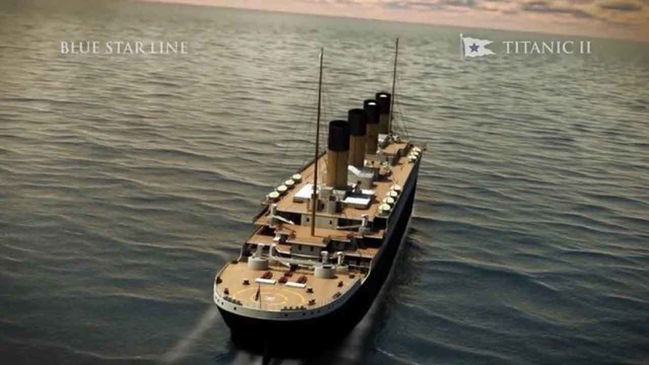 Titanic II to set sail in 2022, follow original route of...