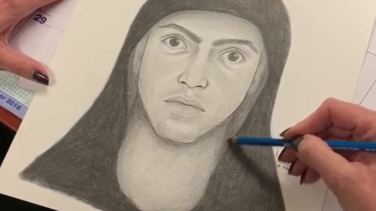 Video thumbnail for miami beach forensic sketch artist speaks about her work
