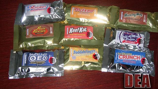 Look-alike Halloween candy may be laced with meth, marijuana