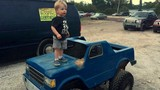 Burglars take boy's vintage go-kart monster truck