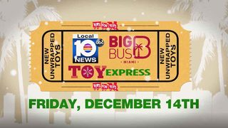 Big Bus Toy Express rolling through South Florida again