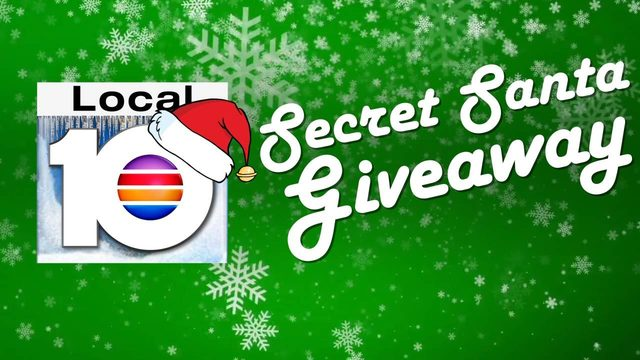 Win amazing holiday prizes in Local 10's 'Secret Santa Giveaway'
