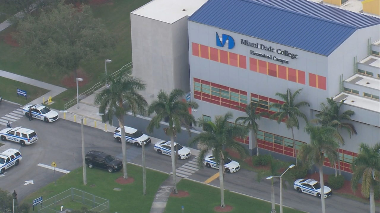 Domestic dispute leads to large police presence at Miami Dade
