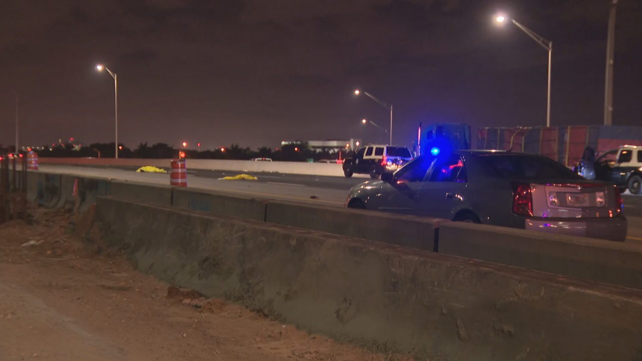 Woman killed in crash that shut down southbound I-95 in