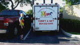 Thieves make off with donations for Broward children's charity
