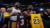 LeBron-led Lakers edge Wade's Heat in final meeting