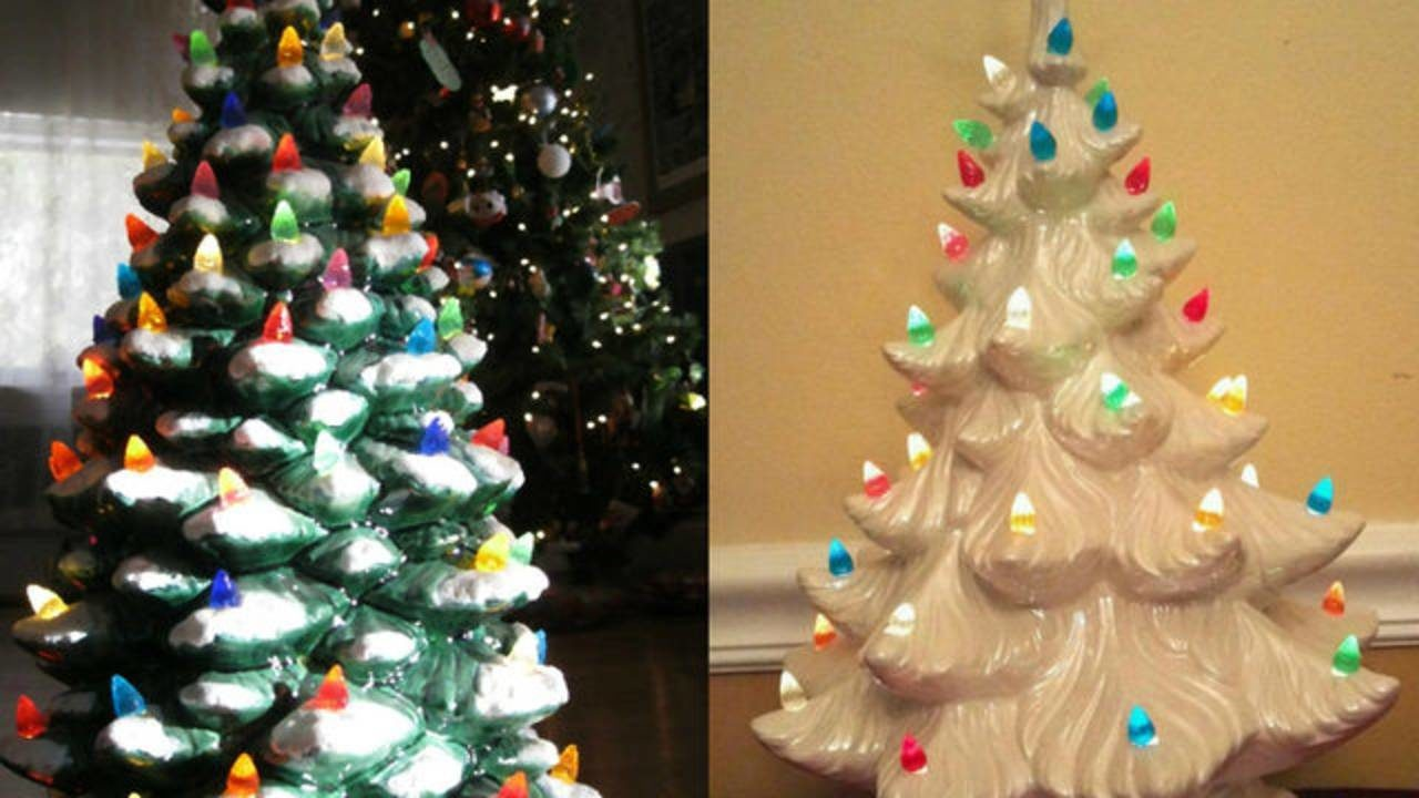 Vintage ceramic Christmas trees could bring you big-time...