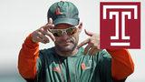 Miami defensive coordinator Manny Diaz close to getting Temple job