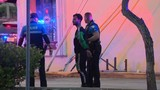 Suspect in custody after rock attack in Miami Beach