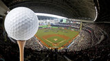 Fore! Hit the golf links at Marlins Park... yes, Marlins Park