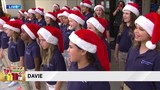 University School choir joins Big Bus Toy Express in Davie