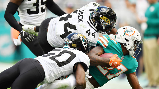 Dolphins RB Kalen Ballage says he has nothing to prove