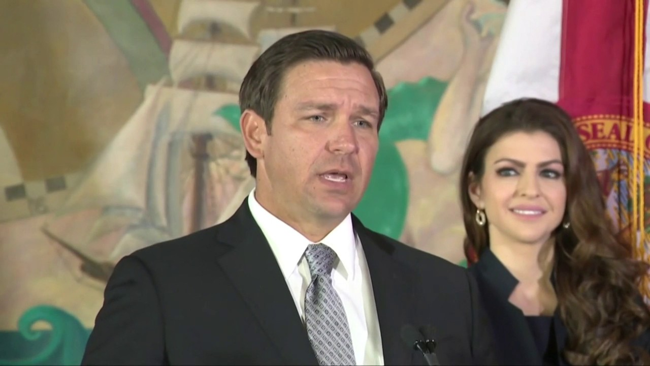 Gov  Ron DeSantis declines to say whether he will suspend