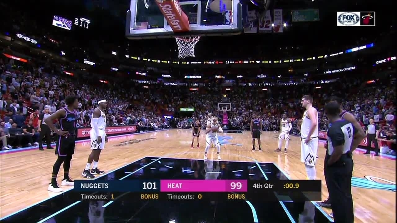 Miami Heat fan arrested after running onto court during game