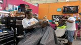 Free haircuts deliver big smiles in South Florida
