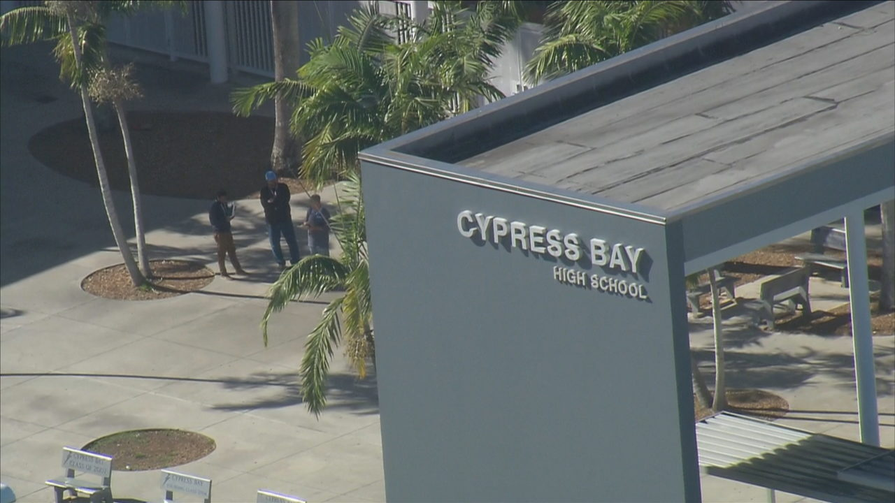 Code Yellow Lifted At Cypress Bay High School After Shooting