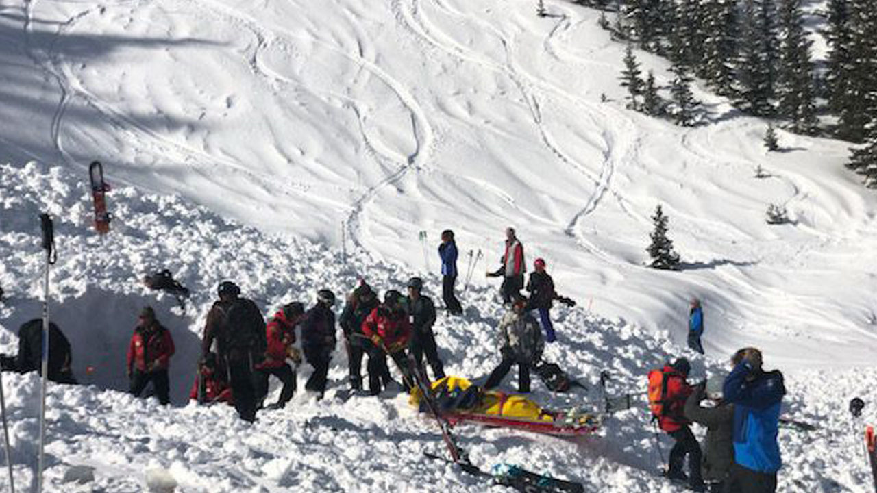 2 People Rescued After Avalanche At New Mexico Ski Resort