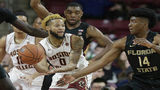 Bowman scores 37 as Boston College beats No. 11 Florida State