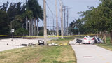 1 person seriously hurt as car crashes into light pole in Miami-Dade