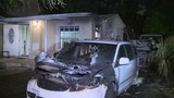 Vehicles burn in driveway of Miami Gardens home