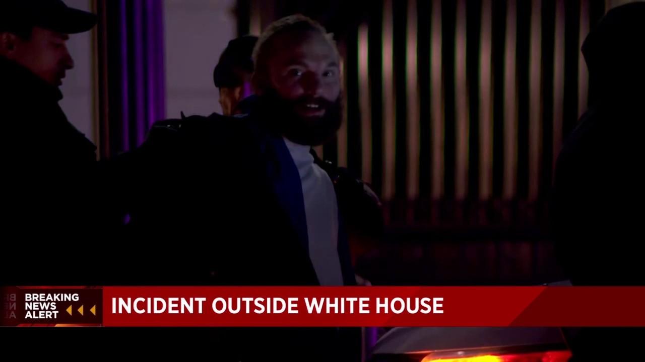 Secret Service Agents Arrest Man In Front Of White House