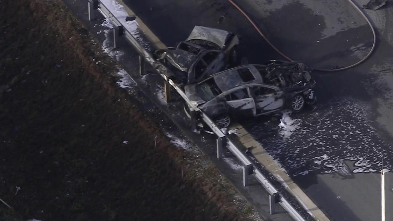 16-year-old girl dies in fiery crash on I-95 in Deerfield Beach