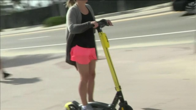 No summer beach time for e-scooters, Fort Lauderdale says