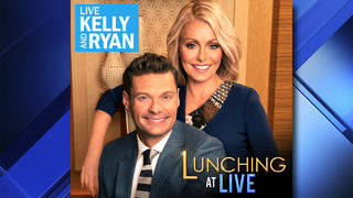 "Enter to win the ""Lunching at Live"" contest and see Kelly and Ryan in NYC"
