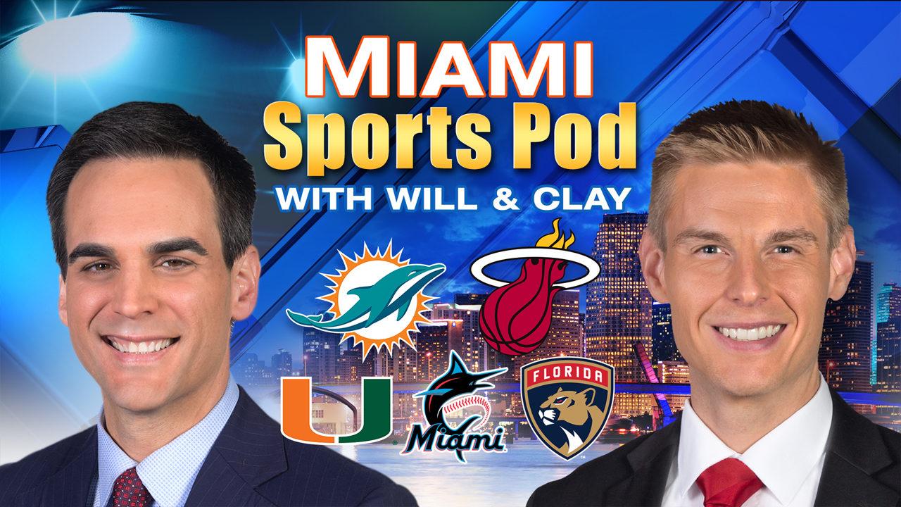 Miami Sports Pod - Rosen plays, world shrugs