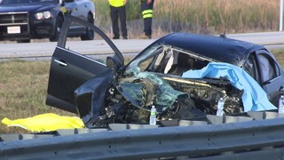 2 dead, including officer, in wrong-way crash on I-75 in Broward County