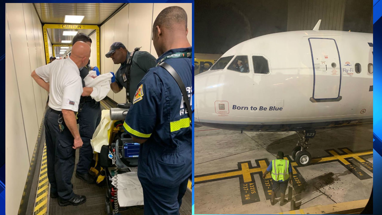 be69cc551fb Baby born on JetBlue flight from Puerto Rico to Fort Lauderdale
