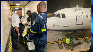 Baby born on JetBlue flight from Puerto Rico to Fort Lauderdale