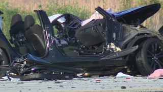 Wrong-way wreck leaves police officer, Hollywood man dead