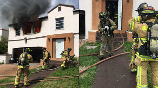 Family displaced, 2 cats die after house fire in southwest Miami-Dade