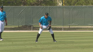 Granderson hopes to provide veteran leadership to Marlins