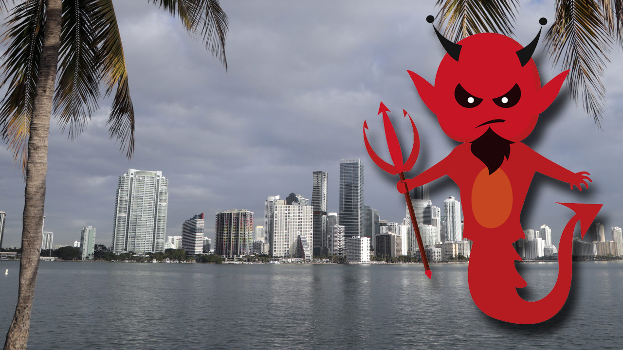 Florida ranked 2nd most sinful state in US