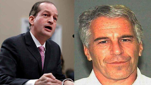 Trump defends Acosta but will look into Epstein plea deal