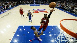 Heat fall short against 76ers in Philadelphia