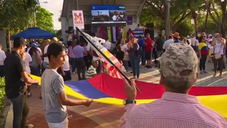 Venezuelans in South Florida rally in support of Juan Guaido