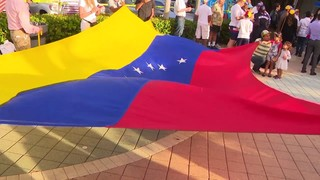 Venezuelans in South Florida speak out at rally amid Venezuela crisis