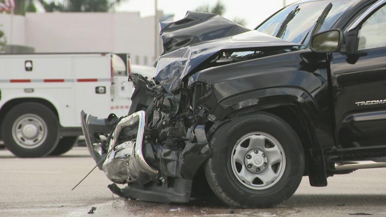 Woman killed in car crash in Hialeah Gardens, authorities say