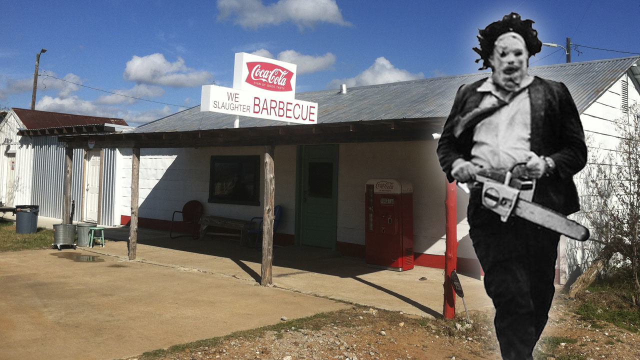 Stay, eat at original 'Texas Chainsaw Massacre' gas station