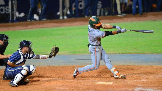 Miami beats Virginia 10-3 at ACC tournament