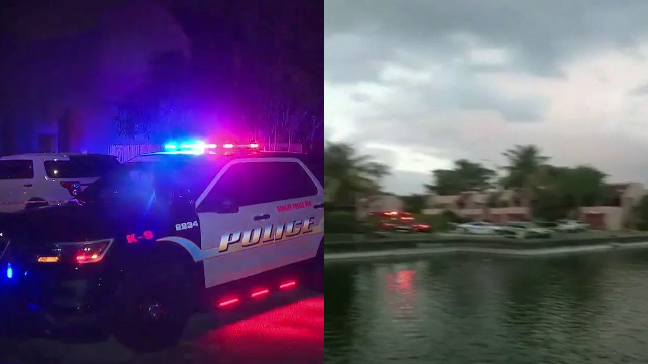 Teenager drowns in lake while fleeing from police in Lauderhill