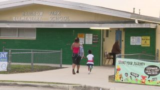 Students return to school after classmate killed in accidental shooting