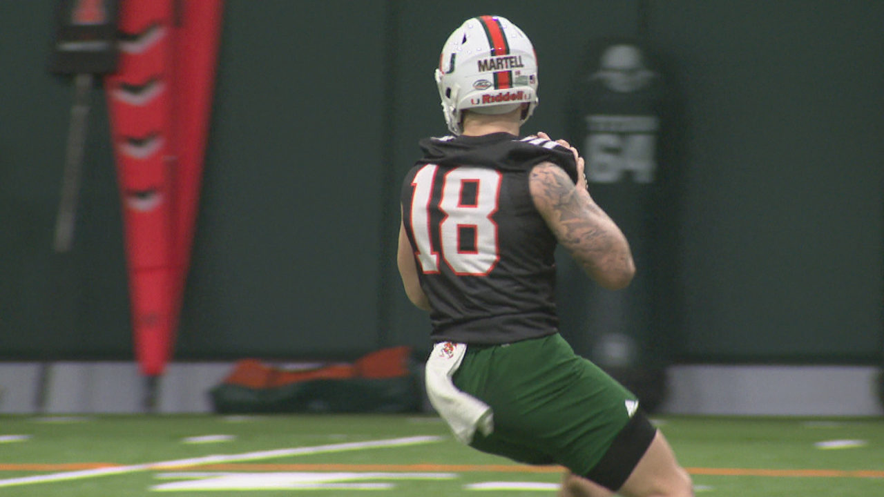 the best attitude 14c83 70be6 NCAA clears QB Tate Martell to play immediately for Hurricanes