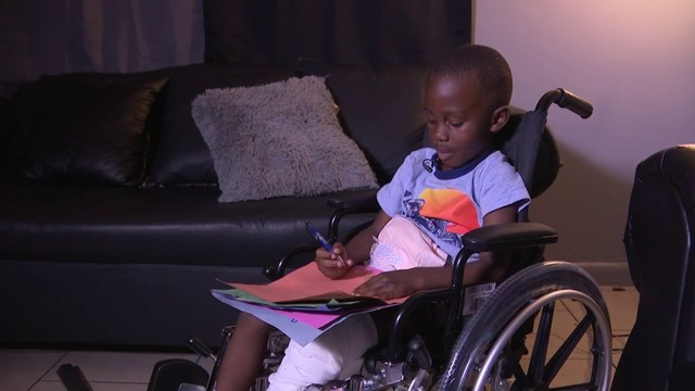 Boy leaves hospital in wheelchair after hit-and-run crash in Lauderdale Lakes